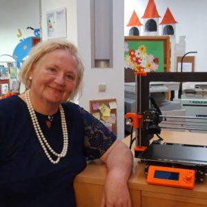 DIGITALNI GRAĐANIN Virovitička knjižnica uspješno provela još jedan projekt te osvojila 3D printer