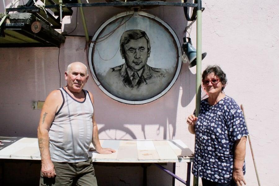 PANORAMA, T.J. Reder naslikala je djeda Ivana u mladim danima,lmh (Custom)