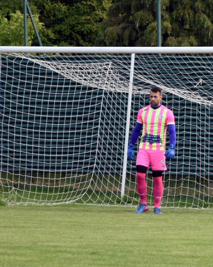 Igrač utakmice kontra Tehničara vratar Eljfat Mehmedi Custom