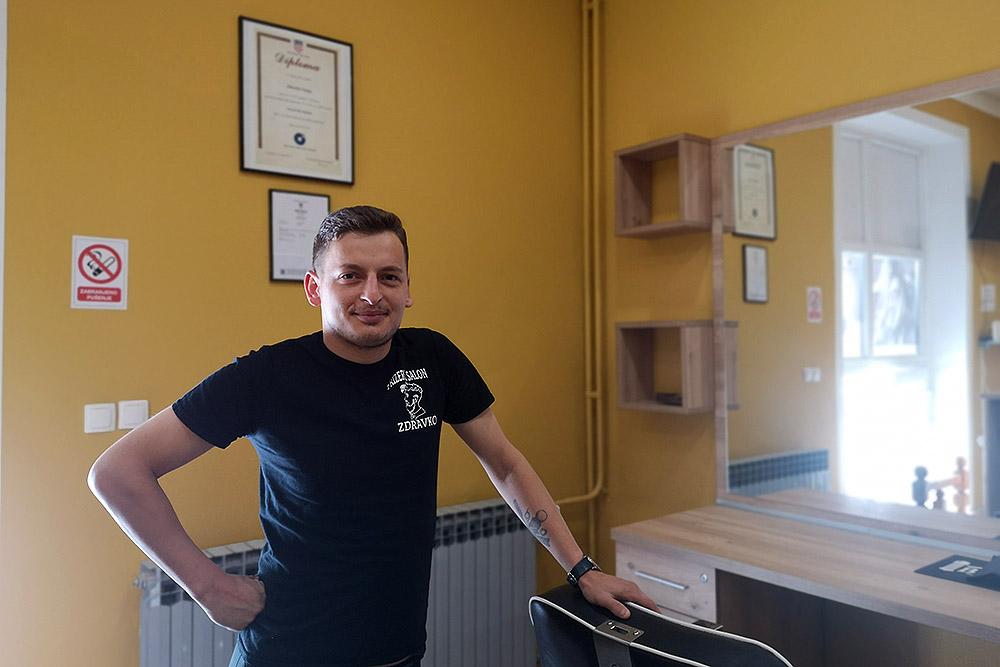 Frizerski salon Zdravko 1