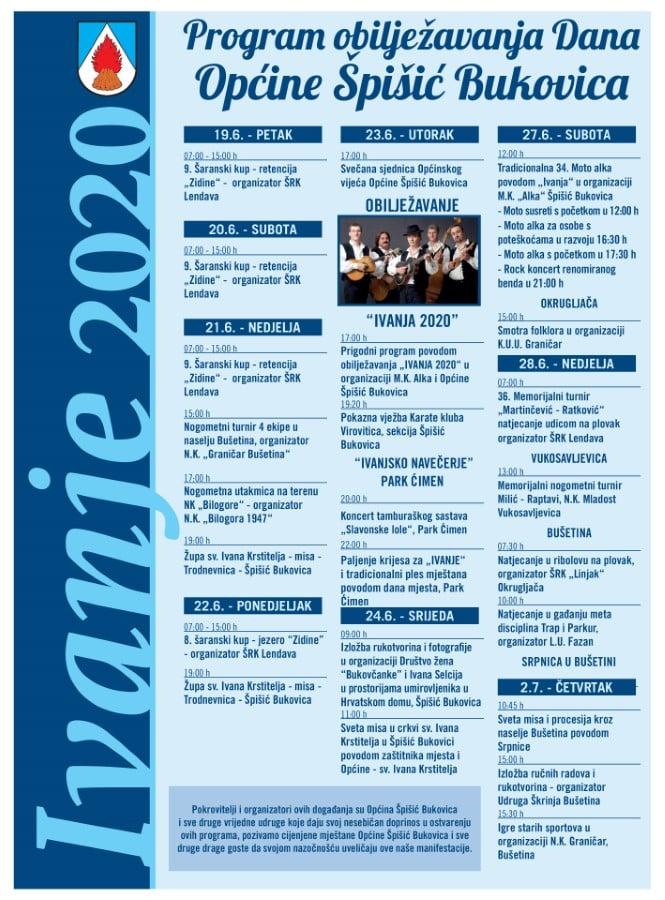 OPCINA SPISIC BUKOVICA Ivanje 2020 plakat page 001 1