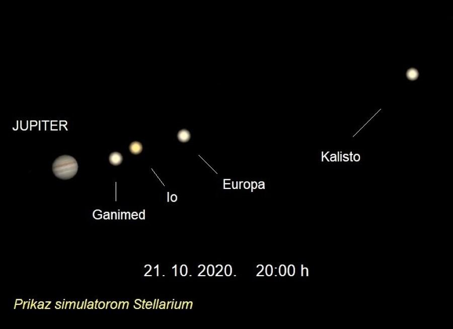 Jupiter 21 10 2020