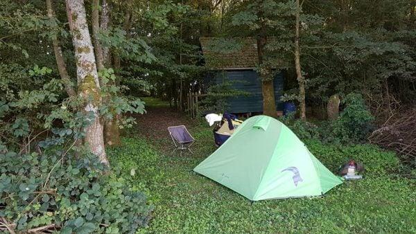 9. Francuska kampiranje