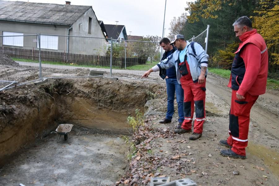 Radovi Donja Motičina (3) kanalizacija prepumpna stanica