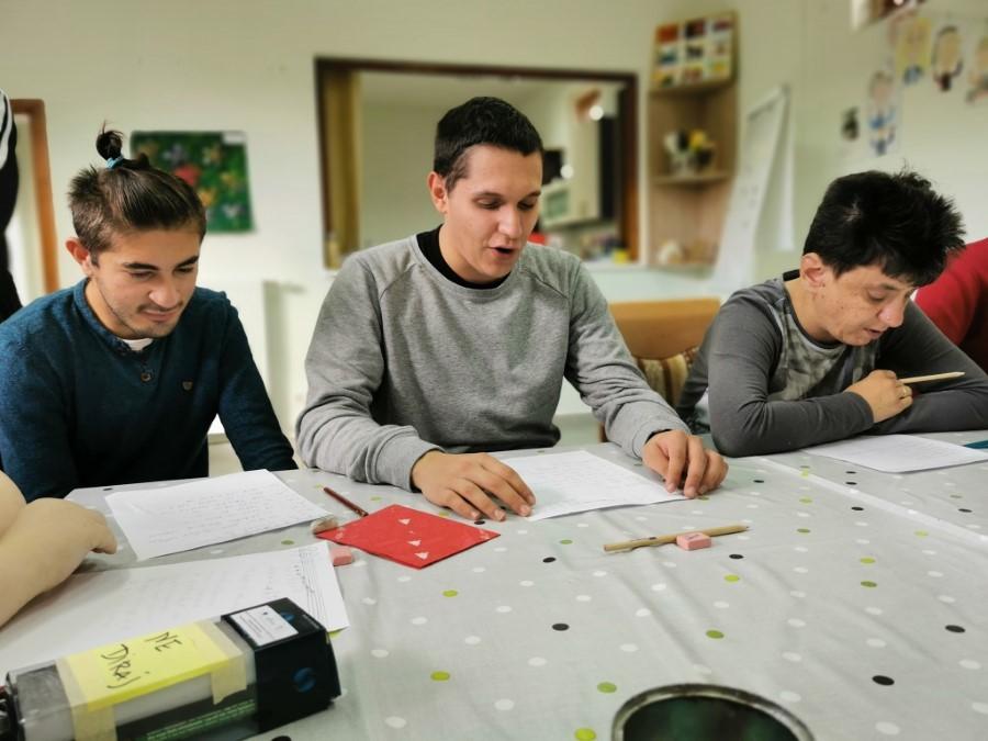 Alen, Davor i Martina u radu kao inkluzivni volonteri u Jaglacu
