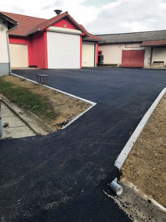 Prosiremnje vatrogasnig garaza i dvorista DVD a Cetekovac Custom