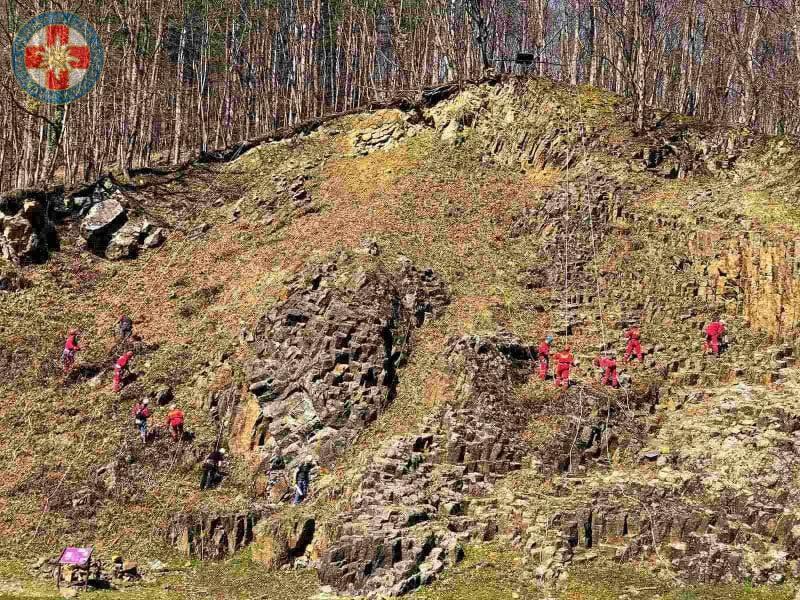 2021.03.13. Orahovica Rupnica na stijeni