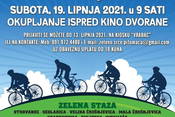 PITOMACKA BICIKLIJADA 2021 PLAKAT