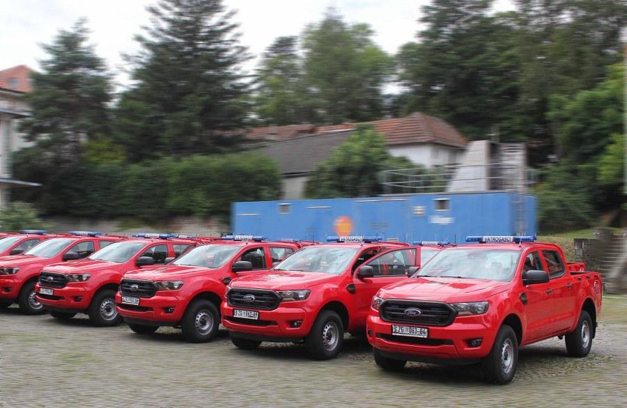 HVZ svecana dodjela vatrogasnih vozila 2. 8. 2021